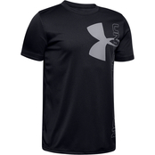 Under Armour Boys Split Logo Hybrid Tee