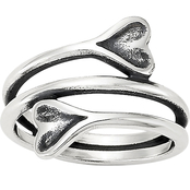 James Avery Hearts Embrace Ring