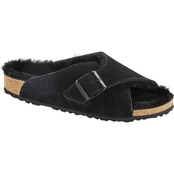 Birkenstock Women's Arosa Suede Shearling Sandals