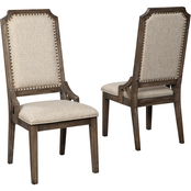 Signature Design by Ashley Wyndahl Upholstered Back Side Chair 2 pk.