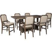 Signature Design by Ashley Wyndahl 7 pc. Counter Dining Set with 6 Stools