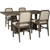 Signature Design by Ashley Wyndahl 5 pc. Counter Dining Set with 4 Stools