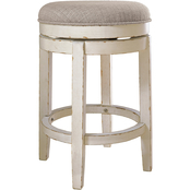 Signature Design by Ashley Realyn Upholstered Swivel Counter Stool