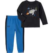 Under Armour Infant Boys Rocket Football 2 pc. Shirt Pants Set