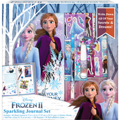 Disney Frozen 2 Sparkling Journal 6 pc. Set