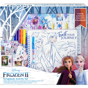 Disney Frozen 2 Scrapbook Activity 7 pc. Set