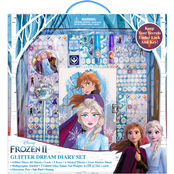 Disney Frozen 2 Glitter Dream Diary 10 pc. Set