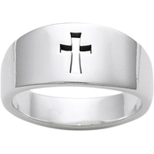 James Avery Narrow Crosslet Ring