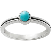 James Avery Tiny Turquoise Ring