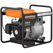 Generac Trash Pump with Subaru Engine