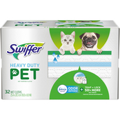 Swiffer Pet HD Odor Defense Wet Mopping Cloths