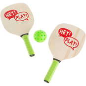Hey! Play! Beginner Paddle Ball 4 pc. Set