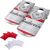 Hey! Play! Budweiser Can Cornhole Game Set