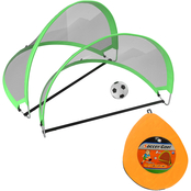Hey! Play! Pop Up Soccer Goals Kids Play and Practice Nets