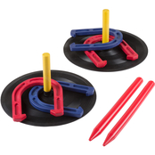 Hey! Play! Rubber Horseshoes Game Set