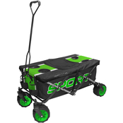 Creative Outdoor Sport All Terrain Folding Wagon with Tabletop Cooler