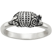 James Avery Armadillo Stacking Ring