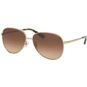 COACH Gradient Irregular Sunglasses 0HC7094900574