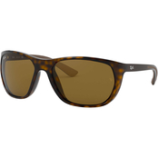 Ray Ban Square Sunglasses 0RB4307601S80