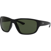 Ray-Ban Matte Black Sunglasses 0RB4300601