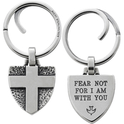 James Avery Fear Not Key Chain