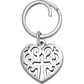 James Avery Regal Heart Key Chain