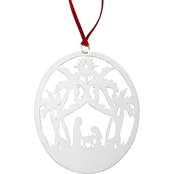 James Avery Sterling Silver Holy Night Ornament
