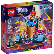 LEGO Trolls Volcano Rock City Concert Playset