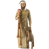Willow Tree Zampognaro the Shepherd with Bagpipe for Nativity