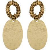 Panacea Lux Oval Post Earrings