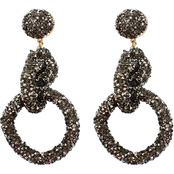 Panacea Lux Link Hoop Earrings