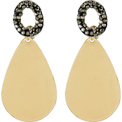 Panacea Lux Teardrop Post Earrings