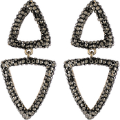 Panacea Lux Triangle Earrings