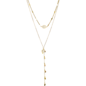 Panacea Pearl Pre Layered Y Necklace