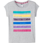JoJo Girls Heathered Jersey Top