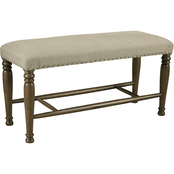 Signature Design by Ashley Lettner Extra Large Upholstered Dining Bench