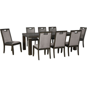 Signature Design by Ashley Hyndell 9 pc. Dining Room Set