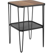 Walker Edison 16 in. Urban Industrial Side Table