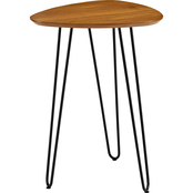 Walker Edison Modern Hairpin Side Table