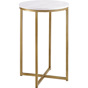Walker Edison Round Side Table