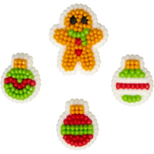 Wilton Gingerbread Boy and Ornament Icing Decorations
