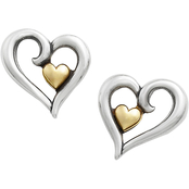 James Avery Joy of My Heart Post Earrings