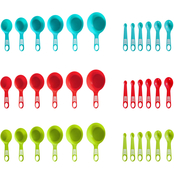 Farberware Colourworks Assorted Measuring Cups and Spoons 12 pc.