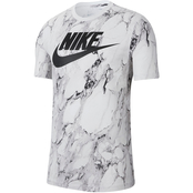 Nike Swoosh Allover Print Basketball Tee