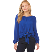 Michael Kors Tie Front Off the Shoulder Top