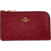 COACH Small L Zip Card Case