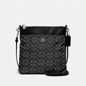 COACH Kitt Signature Jacquard Crossbody Bag