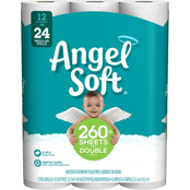Angel Soft Double Roll Toilet Tissue, 12 ct.