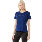 Tommy Hilfiger Slim Crewneck Embroidered Logo Tee