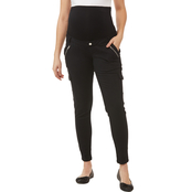 Planet Motherhood Maternity Twill Cargo Pants